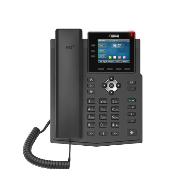 Fanvil X3U IP Phone (Gigabit, POE ) - Fanvil Hong Kong - 香港代理