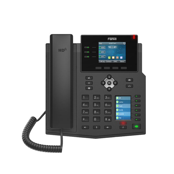 Fanvil X4U IP Phone (Gigabit, POE) - Hong Kong Distributor - 香港代理
