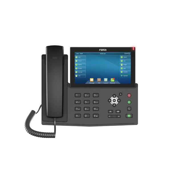 Fanvil X7 7″ touch Screen Gigabit IP Phone (POE) - Fanvil Hong Kong - 香港代理